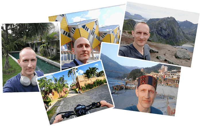 pics from India, Bali, Norway and more