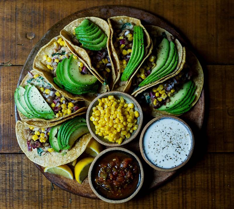 whole food avocado tacos